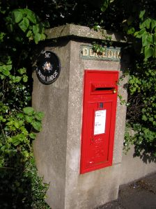 Mail box in Coleraine