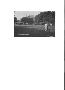 postcard collection bowling green in England
