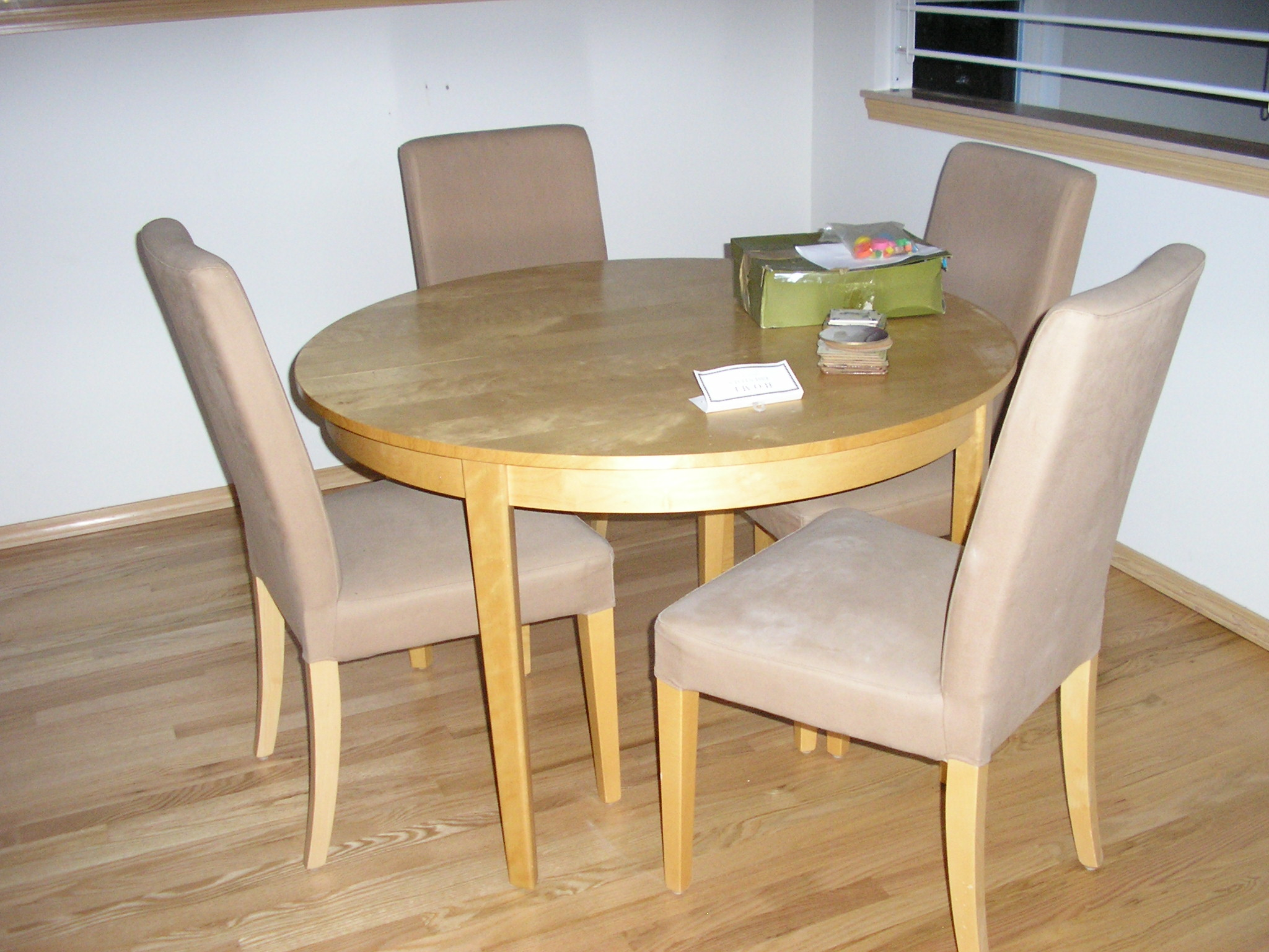 Oak Dining Room Table And Chairs Stash Projects Janet S Thread