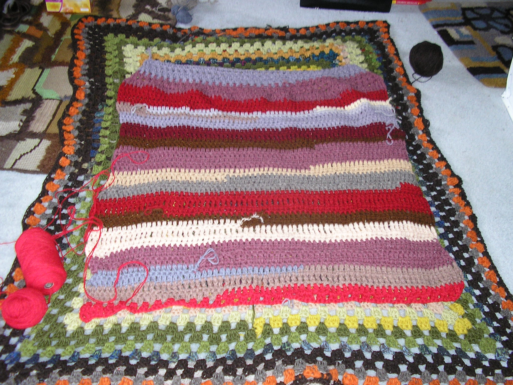 Crochet – A Mighty Big Blanket | Janet\'s thread