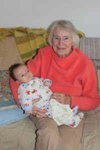 ruth at 85 with jackson stokes