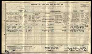 England Census 1911