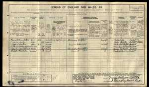 England Census 1911