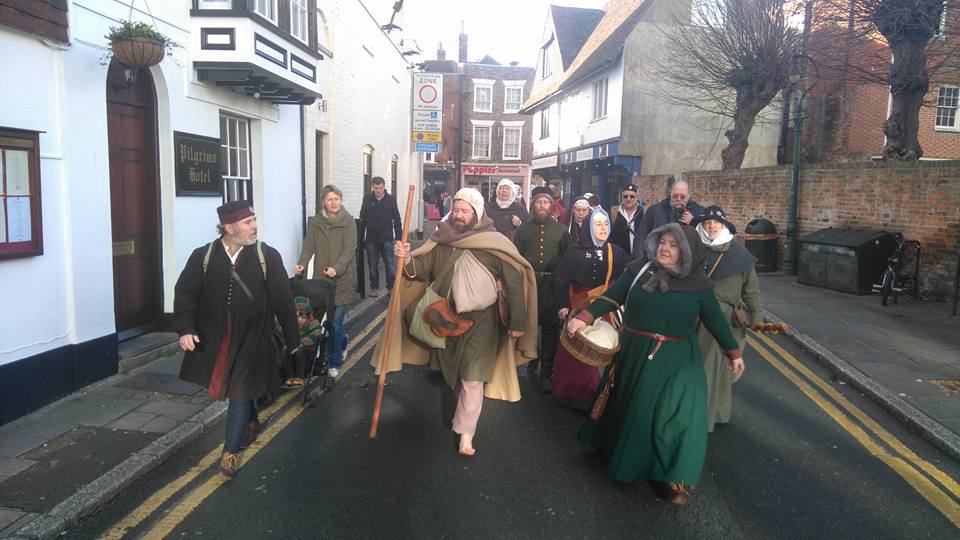the pilgrim has arrived