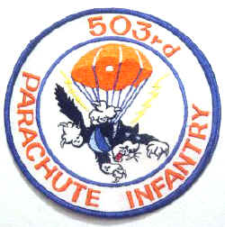 503rd PIR patch
