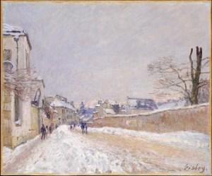 alfred sisley 1839-1899 winter