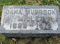 dana m miller grave marker