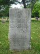 Ebenezer Warner Hamden Plains Cemetery