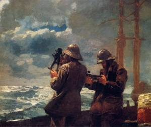 Eight Bells Winslow Homer