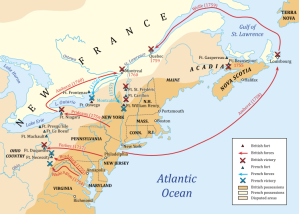 French_and_indian_war_map