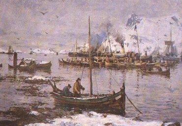 Gunnar_Berg_Fra_Svolvær_i_Lofoten