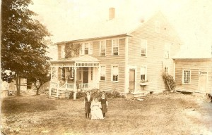 Stephen Payne House Cornwall Vermont built 1807