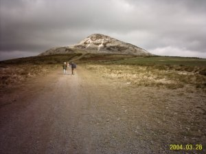 Walking in Ireland - Sugarloaf  Tullow Parih