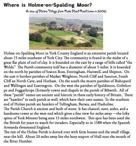 Holme on Spalding Moor