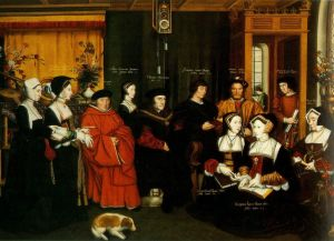 Tudor painting