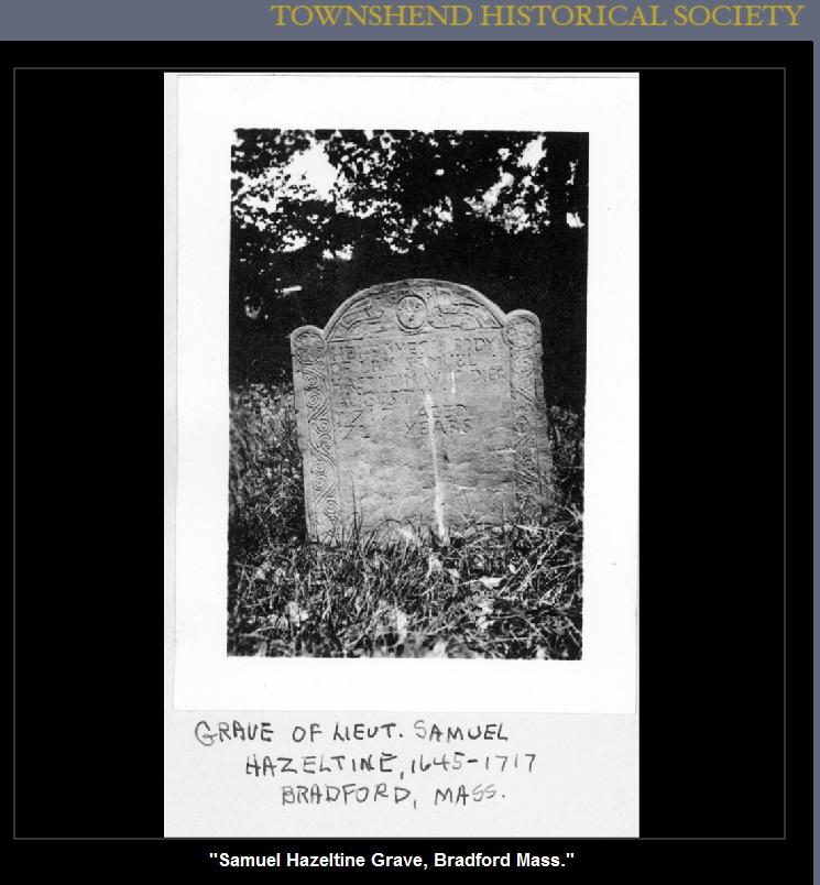 Grave Samuel Hazeltine