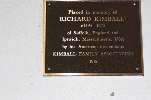 Richard Kimball Plaque