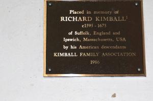 Richard Kimball Plaque