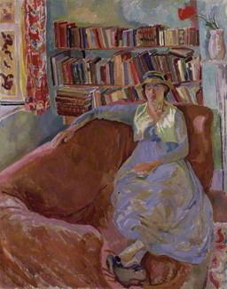 NPG 5541; Vanessa Bell (nÈe Stephen) by Duncan Grant