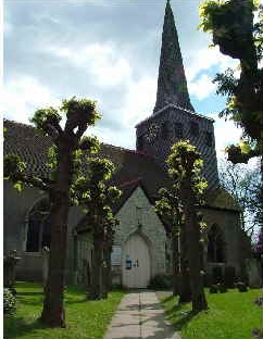 st Bartolomew's Church Horley