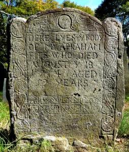 Abraham Fitz Headstone