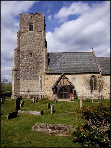 St Andrew Churchyard Suffolk