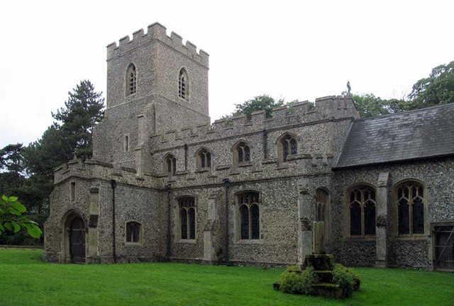 St Faith's church Kelshall