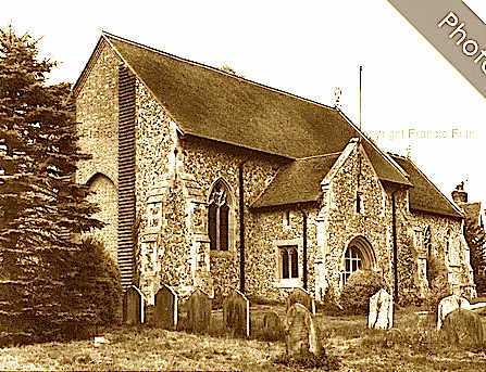 All Saints Church and Graveyard Wimbish Essex