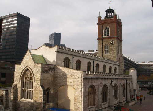 St Giles Cripplegate London
