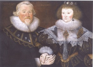1629 A Gentleman and His Wife