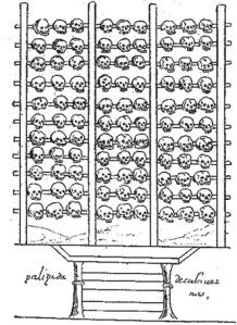 skull rack